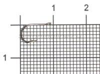 Крючок Chinu KH-10026 №0.3