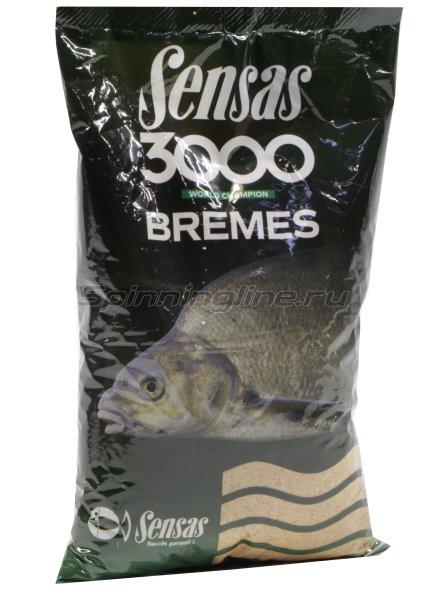 Прикормка Sensas 3000 Bremes 1 кг -  1