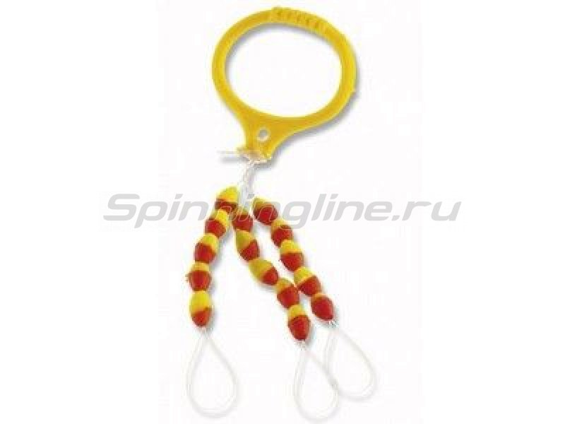 Стопор Cormoran Silicone Stopper Yellow-Red Oval XL -  1