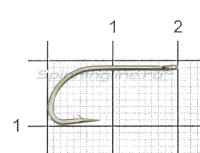 Крючок Crystal Bronze KH-11004 RBR №4