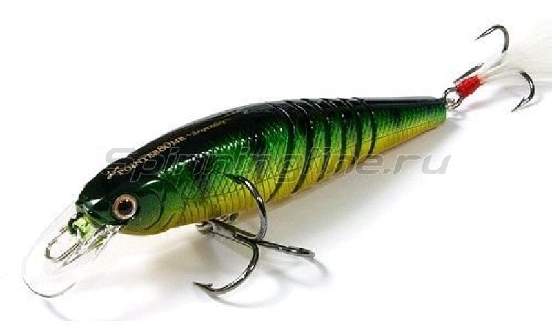 Воблер Live Pointer 80MR Aurora Green Perch 280 -  1