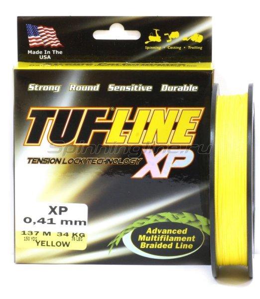 Шнур Tuf-Line XP 137м 0.10мм yellow -  1