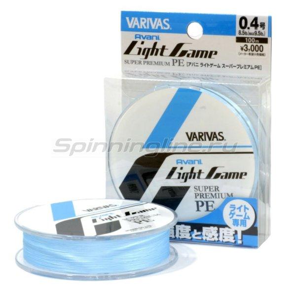 Varivas - Шнур Light Game Super Premium PE 150м 0.3 - фотография 1