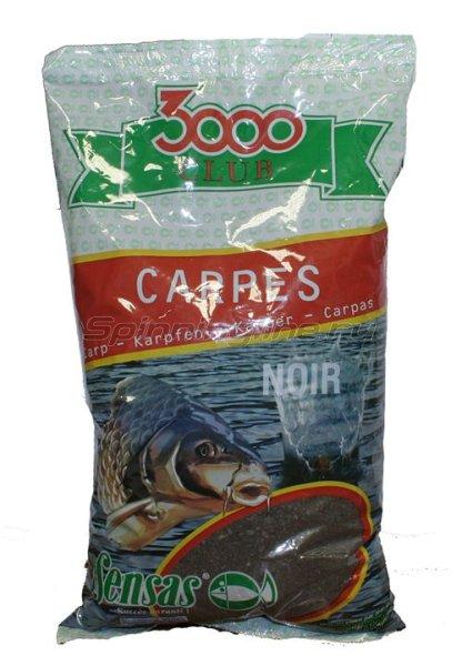 Прикормка Sensas 3000 Club Carp Noire 2,5 кг - фотография 1