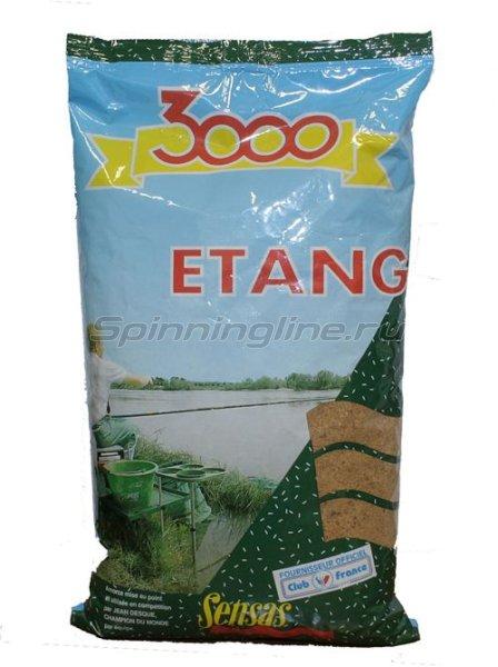 Прикормка Sensas 3000 Etang 1 кг - фотография 1