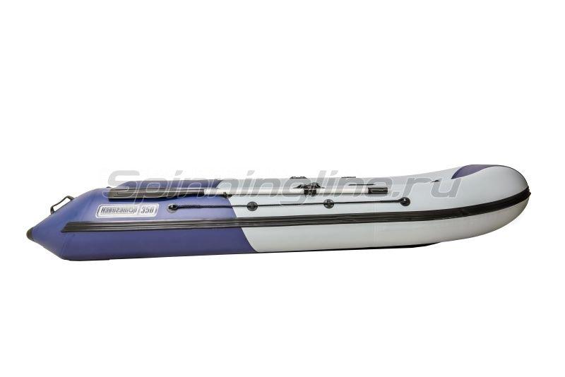 Наши Лодки - Лодка ПВХ Навигатор Турист 350 - фотография 5