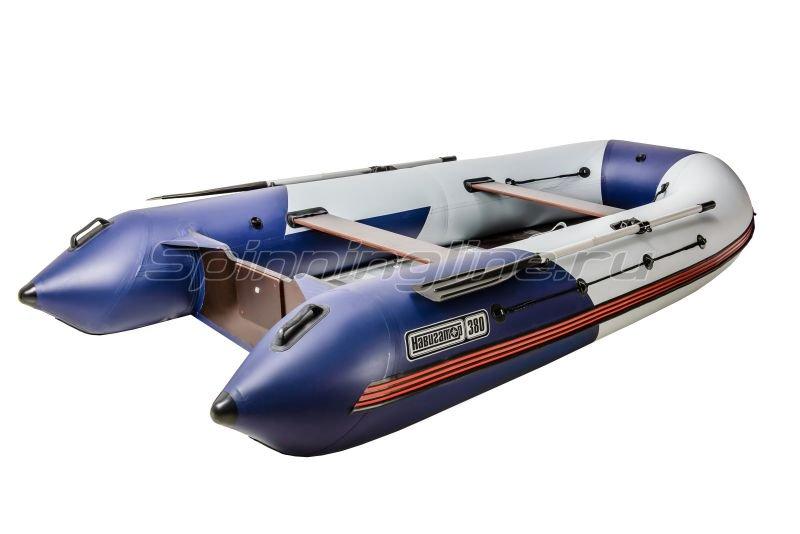 Наши Лодки - Лодка ПВХ Навигатор Турист 380 AI - фотография 2