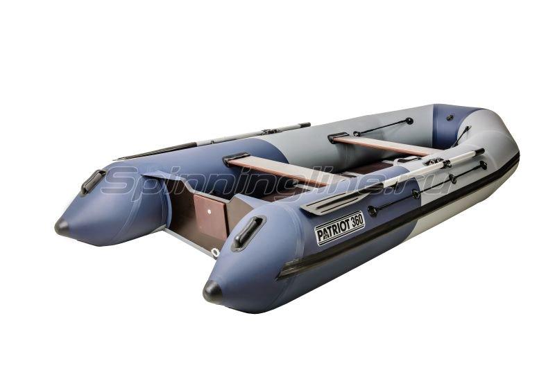 Наши Лодки - Лодка ПВХ Патриот Турист 360 AI - фотография 1