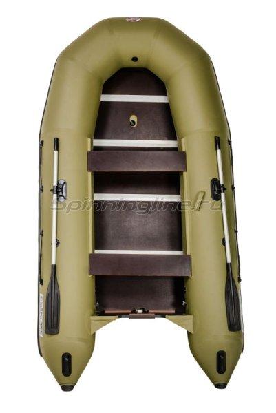 Лодка ПВХ СкайРа 355 Турист -  1