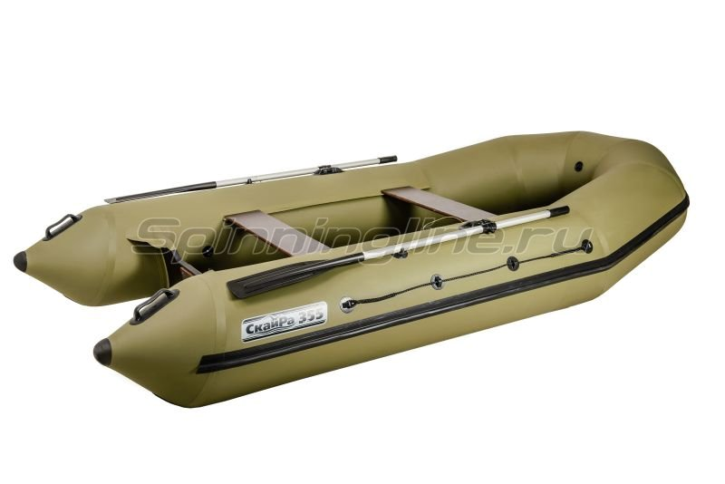 Наши Лодки - Лодка ПВХ СкайРа 355 Турист - фотография 2