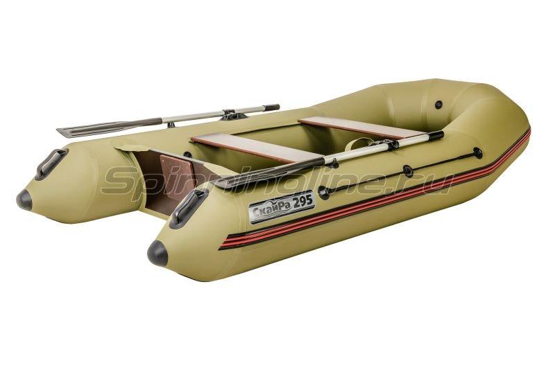 Наши Лодки - Лодка ПВХ СкайРа 370 Турист - фотография 3