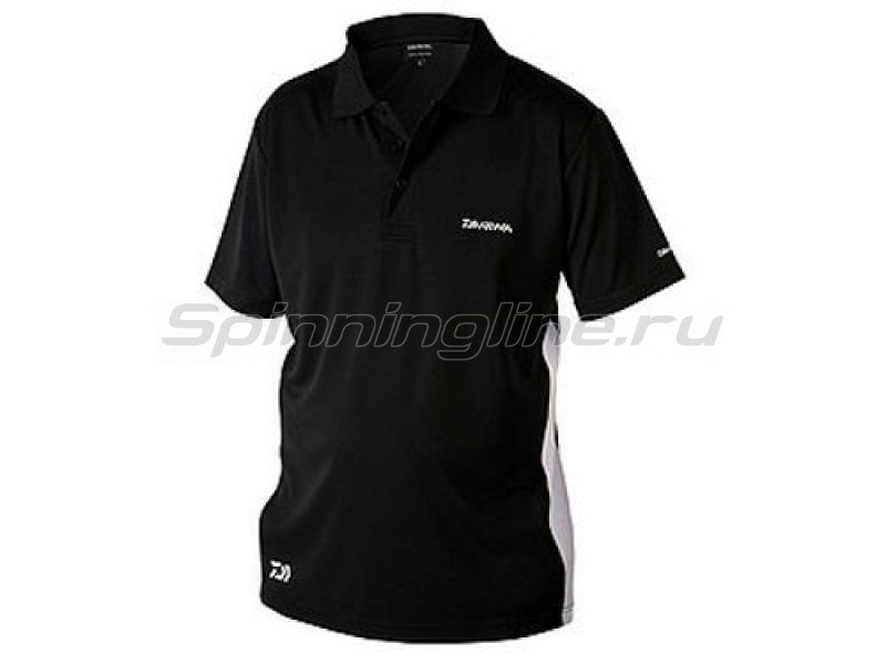 Футболка Daiwa Polo Shirts Black XL - фотография 1