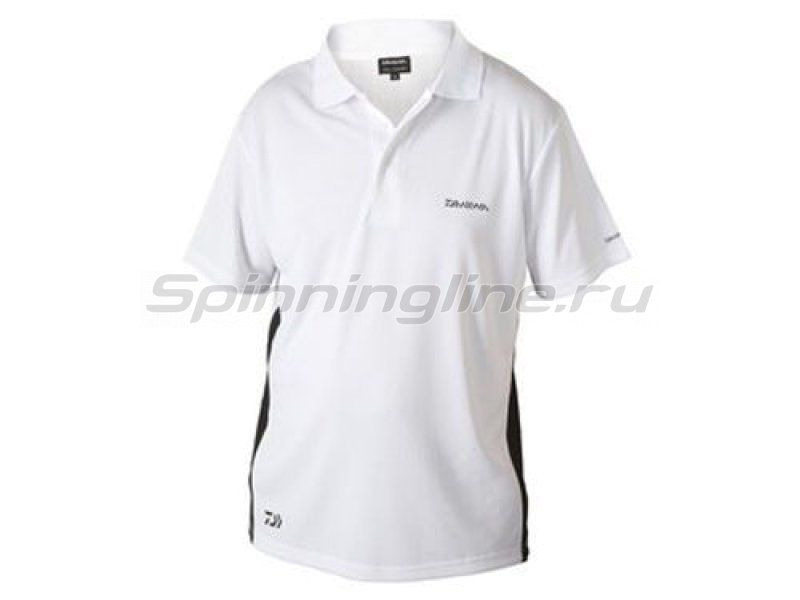 Футболка Daiwa Polo Shirts White L -  1