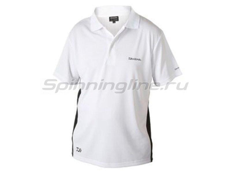 Футболка Daiwa Polo Shirts White XL - фотография 1