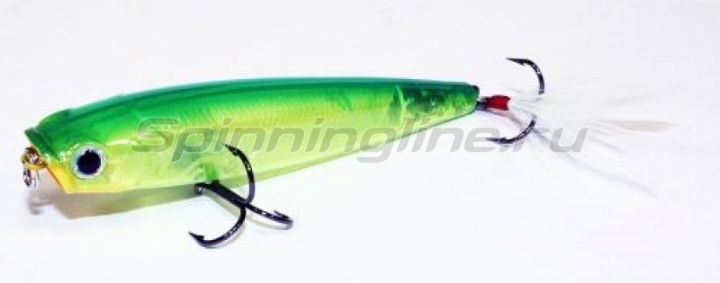 Воблер Gunfish 95 Ghost Lime Chart 123 -  1