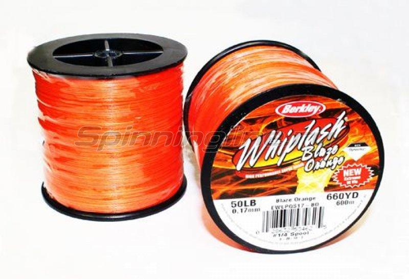 Berkley - Шнур Whiplash Blaze 600м 0.06мм - фотография 1