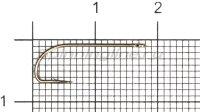 Крючок Gamakatsu LS-1053B Ring Eye N-L №8