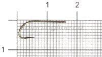 Крючок LS-1053B Ring Eye N-L №10