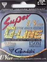 Леска Gamakatsu Super G-Line 150м 0,06мм