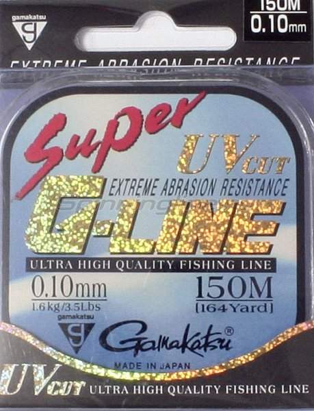 Gamakatsu - Леска Super G-Line 150м 0,06мм - фотография 1