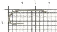 Крючок Korda Long Shank X-02