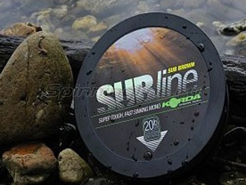 Леска Korda Subline Ultra Tough Sinking Mono Green 1000м 0,43мм - фотография 1
