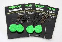 Огрузка для крючка Korda Sinkers Small Weedy Green