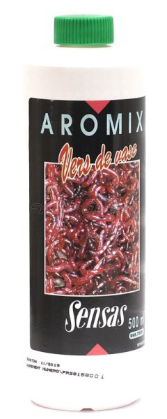 Ароматизатор Sensas Aromix Bloodworm 500 мл - фотография 1