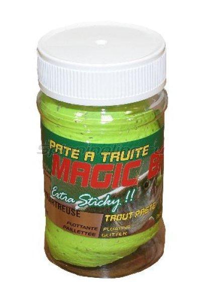 Паста для форели Sensas Magic Bait Chartreuse 50 гр - фотография 1