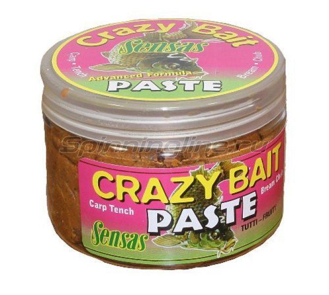 Тесто Sensas Crazy Bait Titti Frutti 150гр - фотография 1