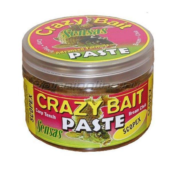 Тесто Sensas Crazy Bait Pot Scopex 150гр -  1