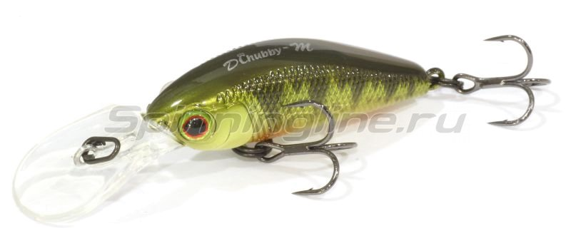Jackall - ������ Diving Chubby Minnow 35SP ghost g perch - ���������� 1