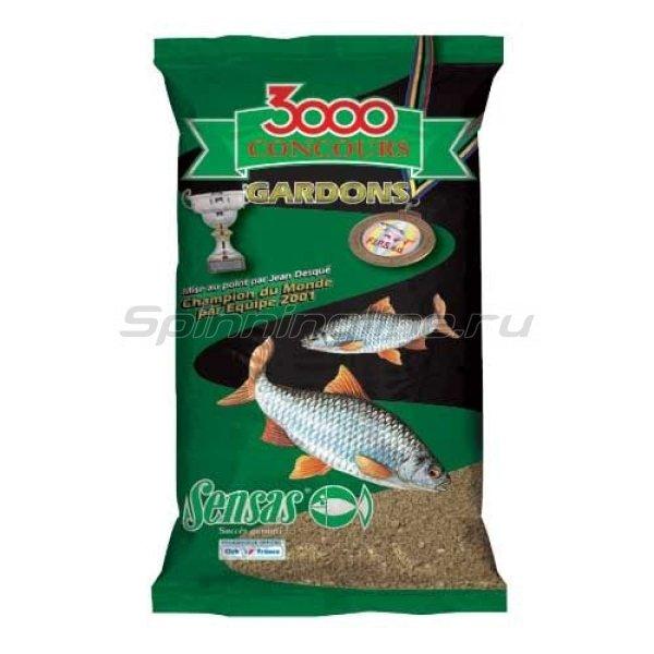 Прикормка Sensas 3000 Concours Gardons (Competition Roach) 1 кг -  1