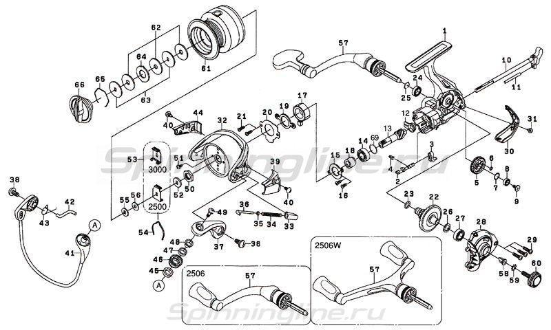 Катушка Revros MX 1003 -  7