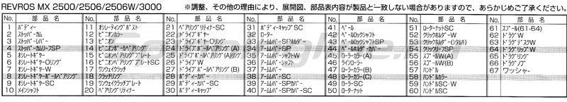 Катушка Daiwa Revros MX 2004 -  7