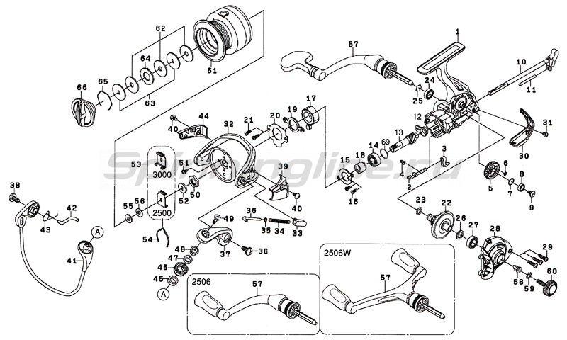 Катушка Revros MX 2506 -  6
