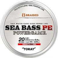 Шнур Sea Bass PE Power Game 150м 1.5