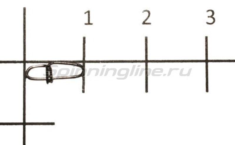 Карабины Crosslock Snap black №00 -  1