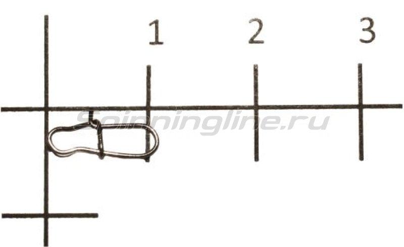 Metsui - Карабины Duo Lock Snap black №00 - фотография 1