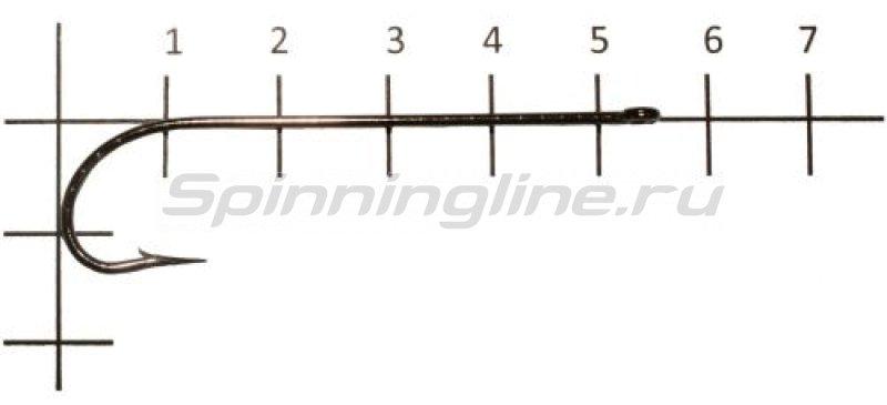 Крючок Metsui Carlisle №3/0 -  1