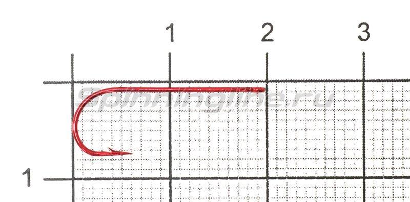 Крючок Metsui Round red №8 -  1