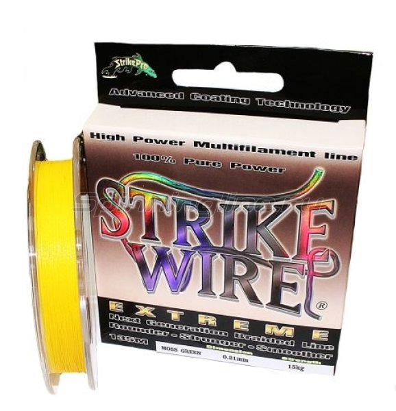 STRIKE PRO - ���� Wire Extreme 135� 0.13�� yellow - ���������� 1