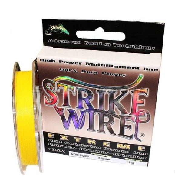 STRIKE PRO - Шнур Wire Extreme 135м 0.21мм yellow - фотография 1