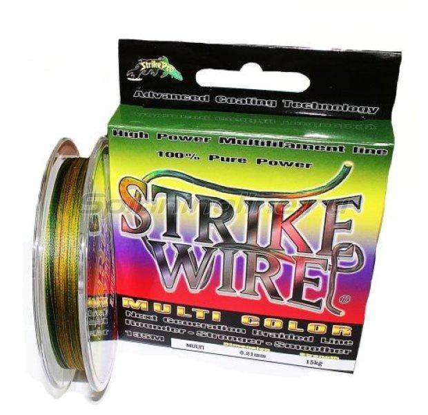 STRIKE PRO - Шнур Wire Extreme 135м 0.15мм multicolor - фотография 1