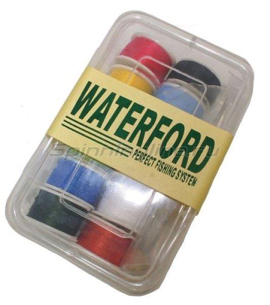 Набор нитей- midge для мушек (12шт.) + бобинодержатель (Waterford) -  1
