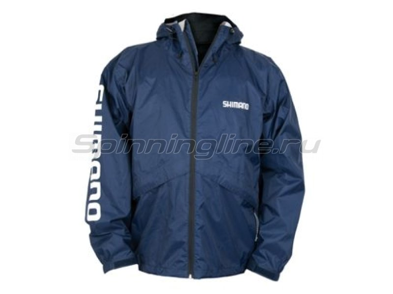 Куртка Shimano Breathable Stash Jacket Dark Navy M - фотография 1