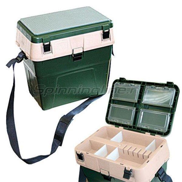 Ящик рыболовный A-Elita Comfort зеленый - фотография 1