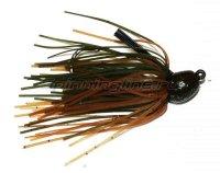 Флиппинговая джигголовка Bitsy Bug mini jig 1,75гр green crayfish