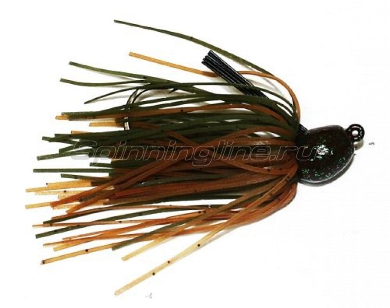 Strike King - Bitsy Bug mini jig 1,75гр green crayfish - фотография 1