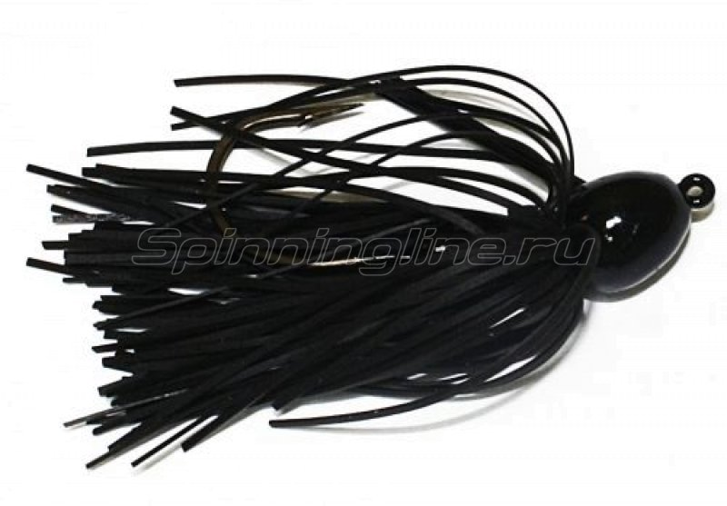 Strike King - Bitsy Bug mini jig 7гр black - фотография 1